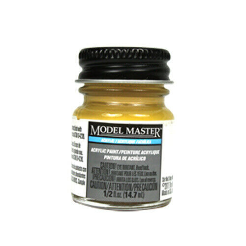 Model Master Tan Acrylic Paint FS20400 - Semi-Gloss 4697 - 1/2 oz. Bottle by Mod