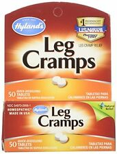 Hyland's Leg Cramps 50 Quick Dissolve Tablets Homeopathic Natural Pain Relief