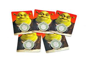 Shrek Medallion 2008 x5