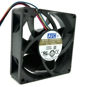 80mm-fan-AVC-DATB0825B2S-8025-DC-12V-0-84A-PWM-speed-winds-cooling-fan