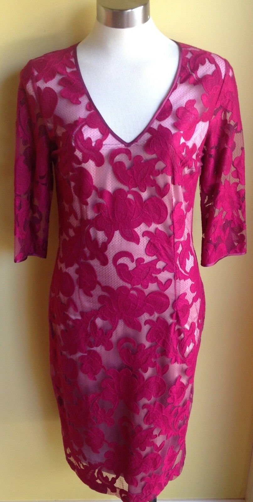 Lisa Barron Floriade Dress Size14 NWT RRP