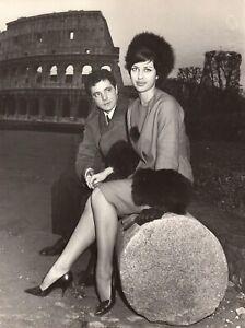 4-Tirages-vintage-Leontine-Snell-des-Blue-Bell-Girls-et-Mario-Caldonazzo-1960
