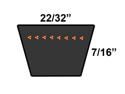 D/&D PowerDrive TR22545 V Belt