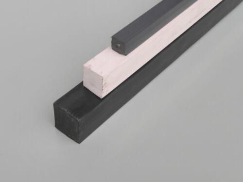 BARRE PVC CARRÉe pleine longueur mt 2 choisir Couleur et côté