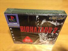 Biohazard 2 Capcom Sony PlayStation PS1 Y-Fold Japanese New Sealed