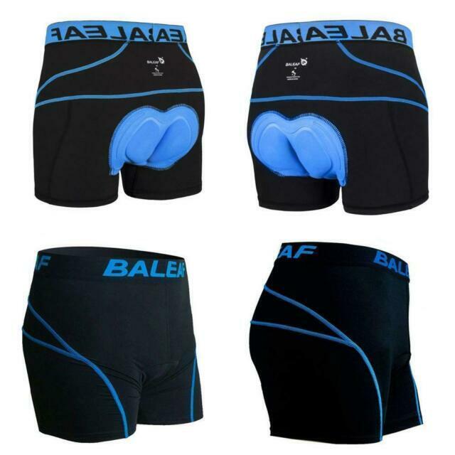 Baleaf Mens 3D Padded Cycling Underwear Shorts