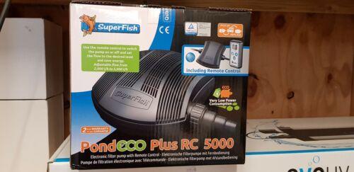 Superfish 5000 eco rc koi pond pump