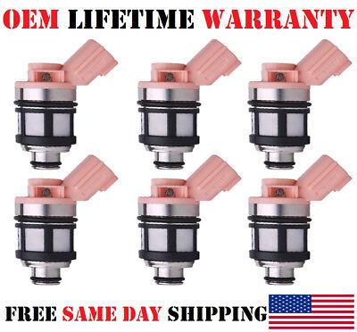 Lifetime Warranty JS23-4 3.0L 3.3L V6 OEM Single Fuel Injector