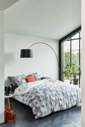 Beddinghouse Baumwoll Bettwäsche 4 tlg 135x200 80x80 Work /& Play 171461 Scalene