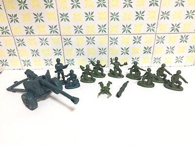 Atlantic 11018 Squadra Mitraglieri E Gruppo Appoggio Anticarro 18 Pz Scala 1/32