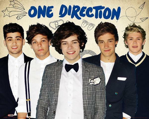 Mini Poster 50cm x 40cm new and sealed Group One Direction