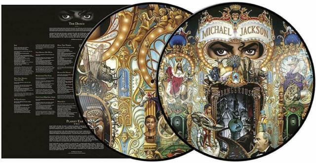 Jackson Michael Dangerous -Vinile 2Lp Picture Disc