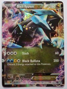 black kyurem ex 95 135 bw plasma storm ultra rare pokemon card