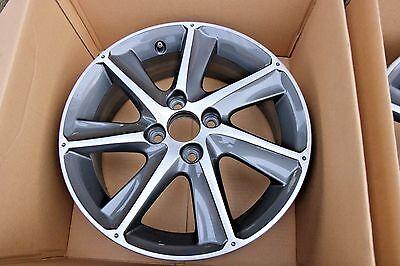 "1  Genuine Original Honda Jazz 16"" Alloy Wheel in Grey, Polished Silver Spare"