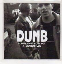 (GB881) Dumb, Super Sonic Love Toy - DJ CD