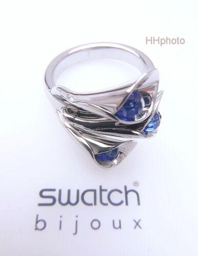 "Anillo/"" Sky Galas /""Maravillosa Con Azules Piedras Nuevo//Top-Rarität Swatch"