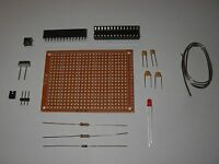 Atmega328p-pu Basic Kit With Uno Bootloader, Breadboard Included