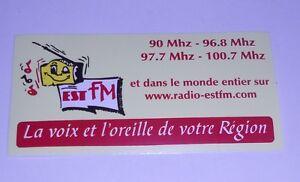 Autocollant-034-Radio-Est-Fm-034