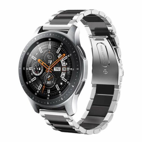 Edelstahl Armband Uhrenarmbänder Für Samsung Gear S3 Frontier//Active 2 44mm Band