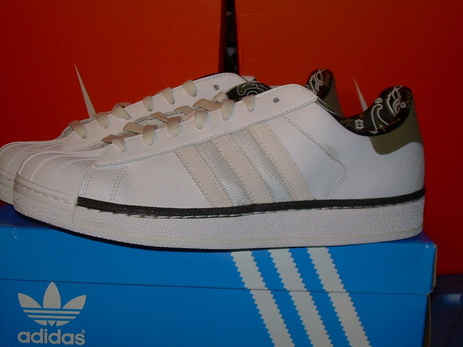 Adidas originali superstar def ii pt young jeezy def superstar jam raro noi 8 pennino. 30c43d