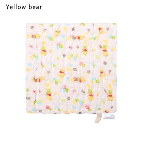 Infant Newborn Soft  Cotton  Gauze  Bath Towel Feeding Wipe Cloth Washcloth