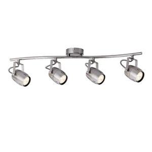 Paulmann-602-88-Gamma-Balken-Strahler-LED-4x3-5-W-GU10-Nickel-inkl-Leuchtmittel