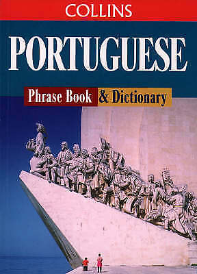 """""""AS NEW"""" , Portuguese Phrase Book and Dictionary (Collins Traveller) Book"""
