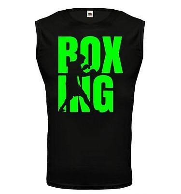 Kleidung & Accessoires Sonstige Unisex Muskelshirt ärmellos Tank Top Boxing Type Boxen Boxsport Kampfsport KöStlich Im Geschmack