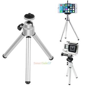 Mini-Portable-Aluminum-Alloy-Tripod-Stand-Holder-for-GoPro-Cam-Phone-microphone