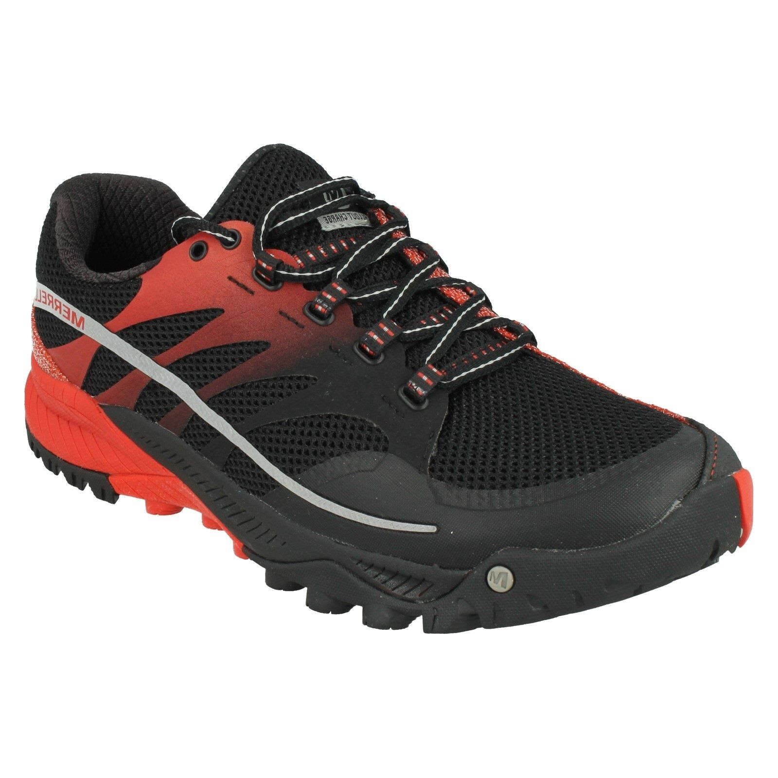 Herren WALKING MERRELL ALL OUT CHARGE LACE UP WALKING Herren HIKING TRAINERS Schuhe e01e86