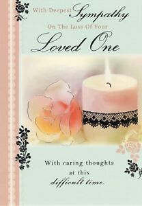 with deepest sympathy on the loss of your - Deepest Sympathy Card