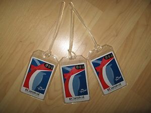 Carnival Luggage Tags Cruise Ship Fun Ships Repurposed