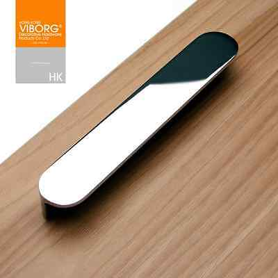 2PCs Top Quality Modern Kitchen Cabinet Cupboard door Drawer Handle Pulls chrome