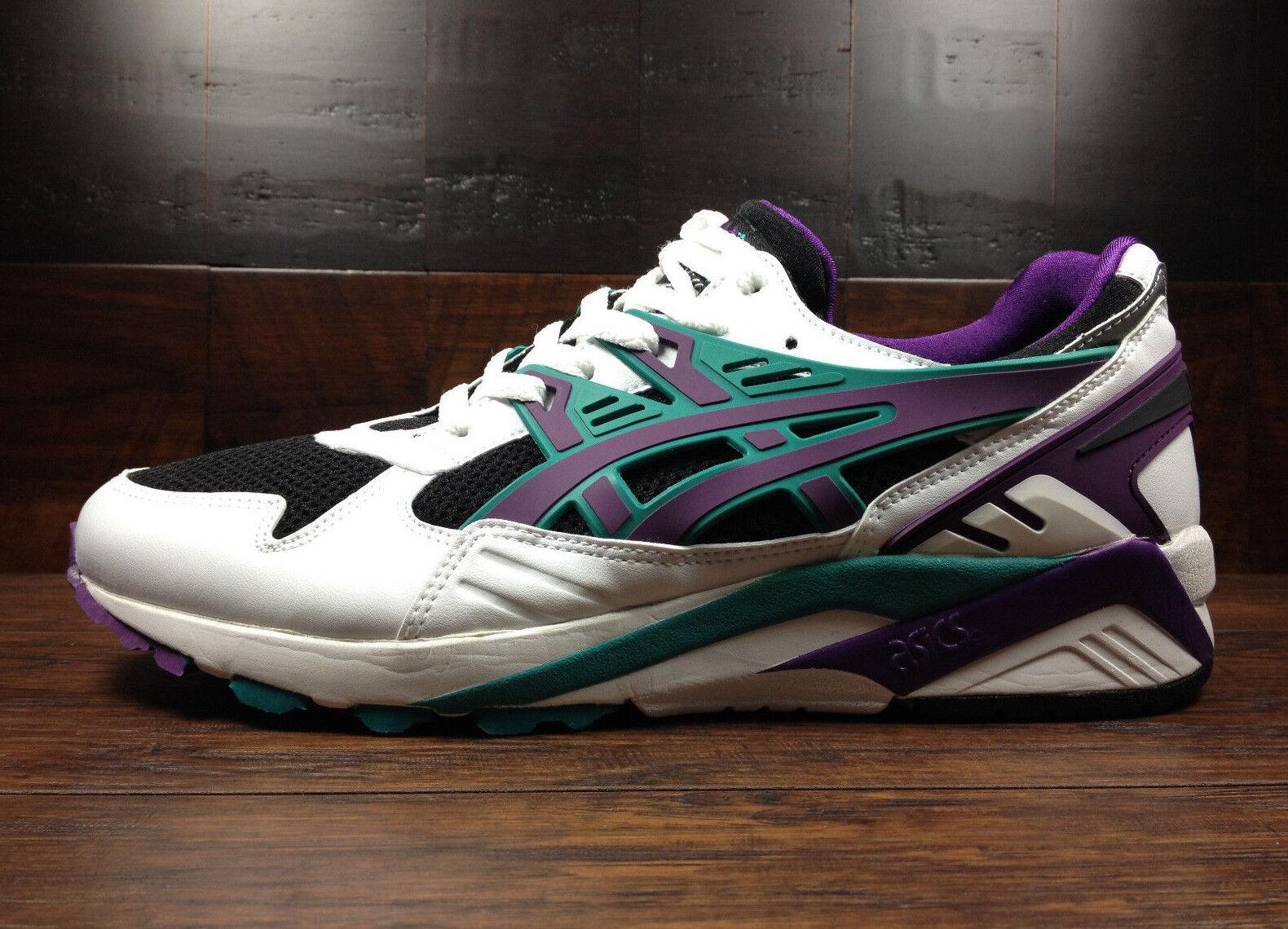 Asics GEL-Kayano Trainer (Negro blancoo púrpuraa) [H403N-9033] correr para hombre