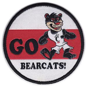 Cincinnati Bearcats Ncaa College 3 Round Go Bearcats Mascot Team