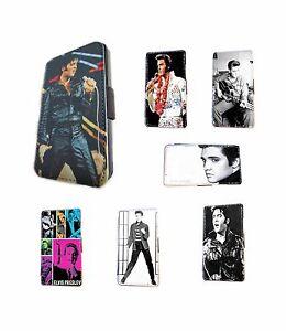 Elvis-Presley-diseno-cuero-tarjetero-funda-para-telefono-con-lengueta-Samsung