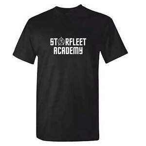 STARFLEET-ACADEMY-T-Shirt-Mens-Star-Trek-Startrek-Tshirt-USS-Enterprise