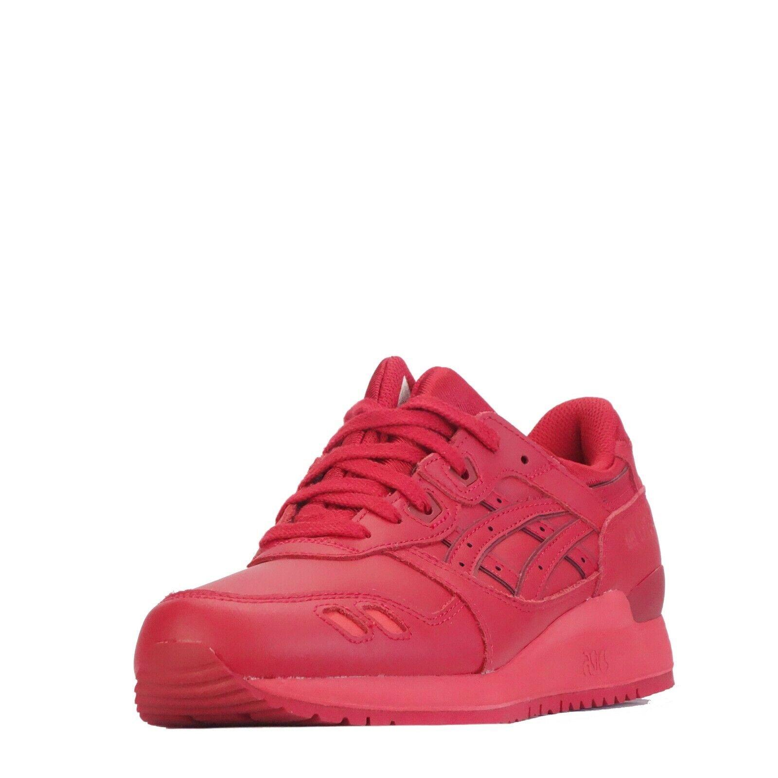 Asics Gel Lyte III Uomo 3 3 3 scarpe da ginnastica. Rosso Rosso baacbe