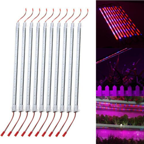 Details about  /10PCS 19 11//16in SMD5730 Network Blue 5:1 LED Plant Grow Rigid Strip
