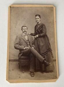 CDV-Photo-Little-Falls-NY-Abbott-Husband-Wife-New-York-Antique-Photograph