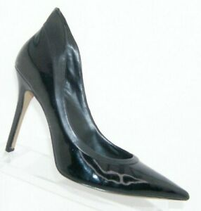 Rock-Republic-039-Chrissie-039-black-man-made-pointed-toe-sculpted-heels-8-5M