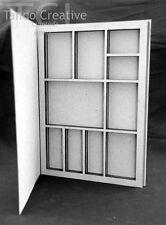 Tando Creative mini Printer Tray greyboard chipboard blank craft shadow box card