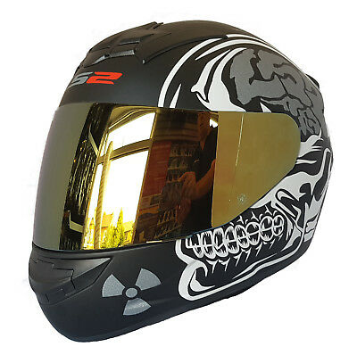 LS2 F352 WOLF FULL FACE MOTORCYCLE HELMET LARGE