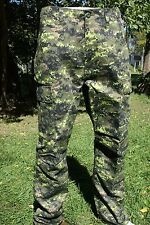 "Cadpat Canadian Digital Para Pants M-65 Design  Size: Large/ Waist  35-39"""