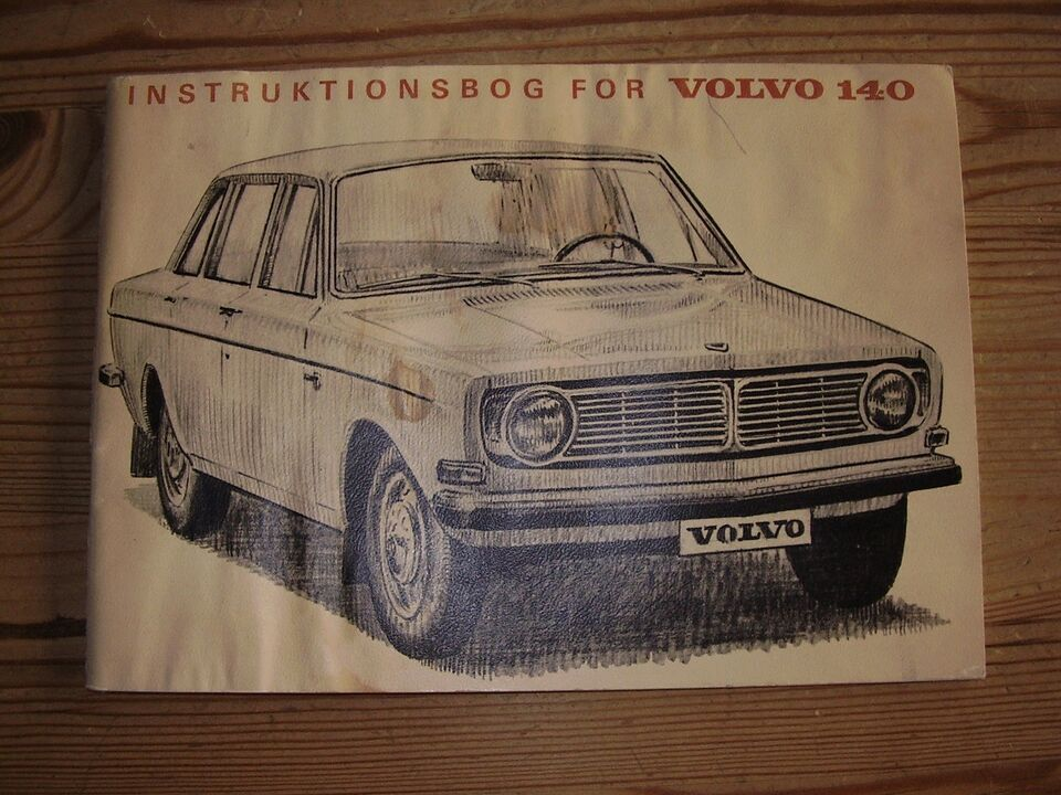 Instruktionsbøger , Volvo; Opel; Vw
