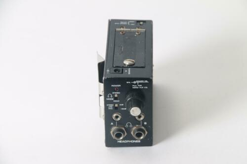 Shure FP22 Stereo Headphone Amplifier W// 3 PIN MIC Connector