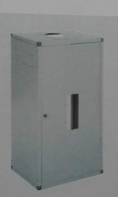 Lamiera In 100x55x45 Copricaldaia Bianca Componibile