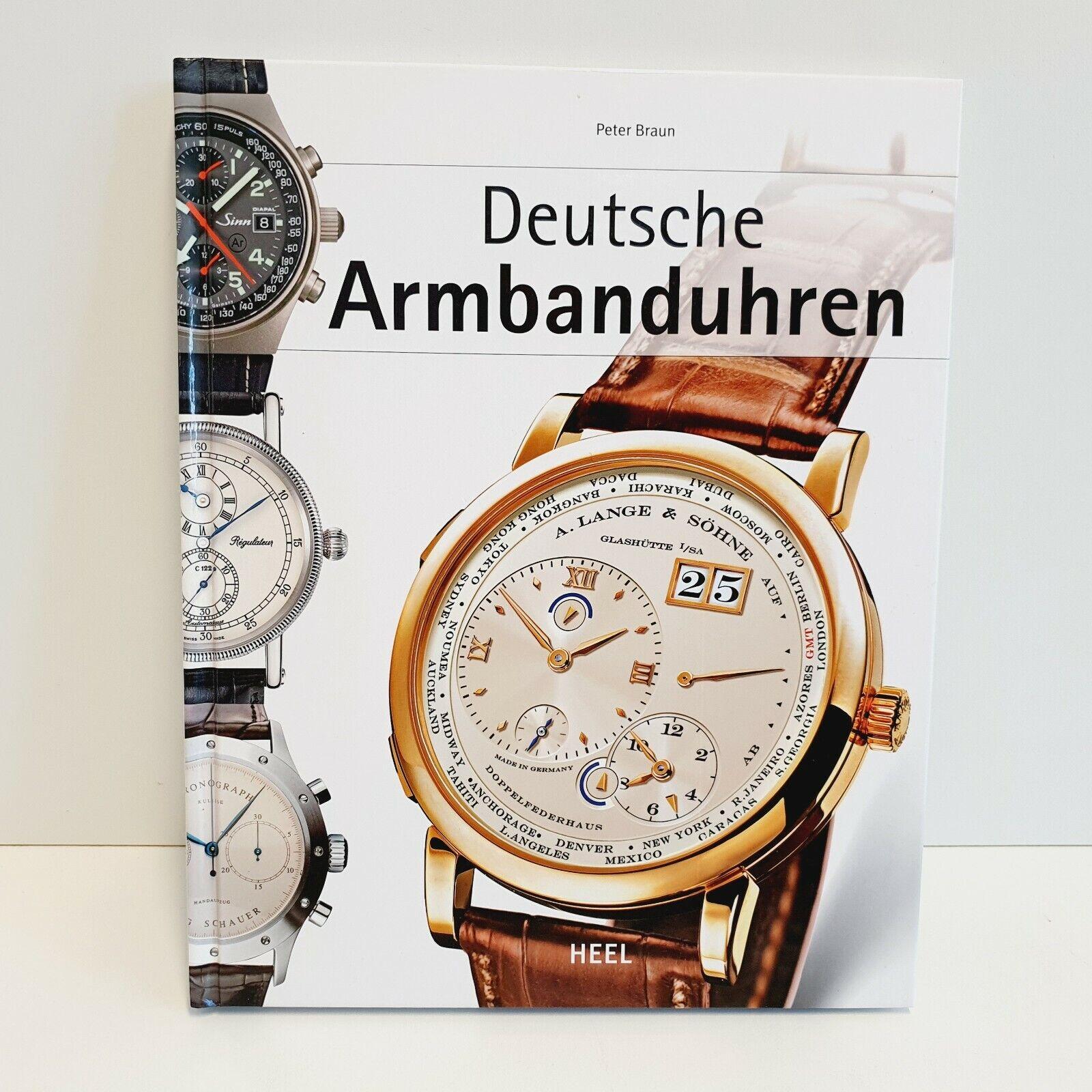 Deutsche Armbanduhren - Peter Braun - Heel - SEHR GUT