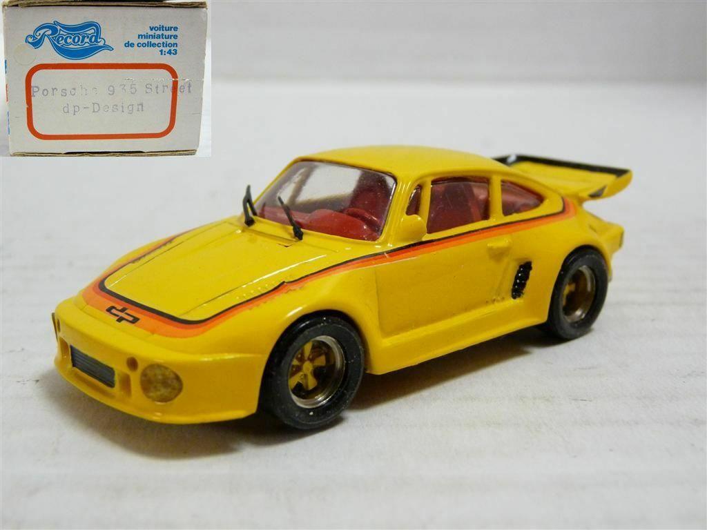RECORD 1 43 1983 PORSCHE 911 Diamond Pearl 935 II Street résine fait main Modèle Kit Voiture