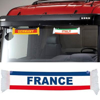 Minibufanda de bandera de Reino Unido con ventosa TRUCK DUCK
